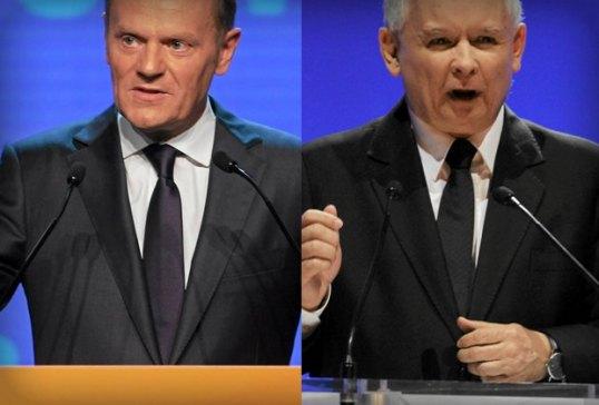 Donald-Tusk--Jaroslaw-Kaczynski