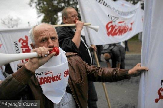 Protest-zwiazkowcow