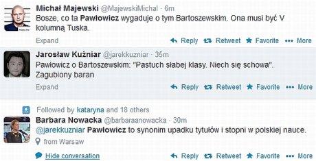 twitter komentuje pawłowicz