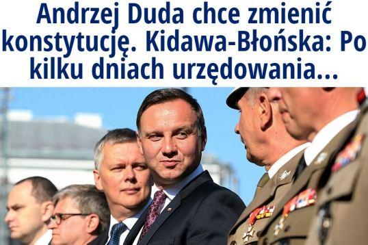 andrzejDudaChceZmienić