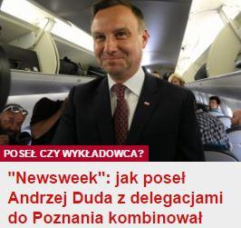 newsweekDuda