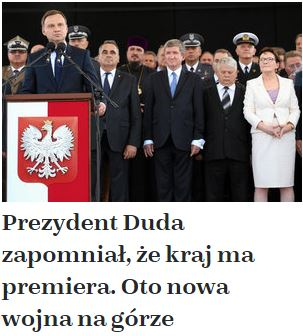 prezydentDudaZapomniał