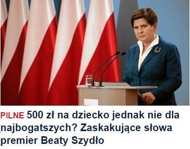 500złNaDzieckoNieDla