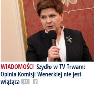szydłoWTVTrwam