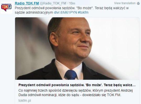 prezydentOdmówił1