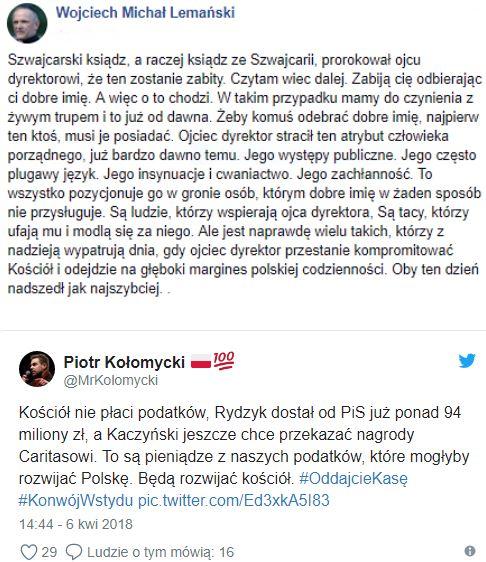 Kaczyński Jest Ruiną Człowieka Prędzej Czy Później
